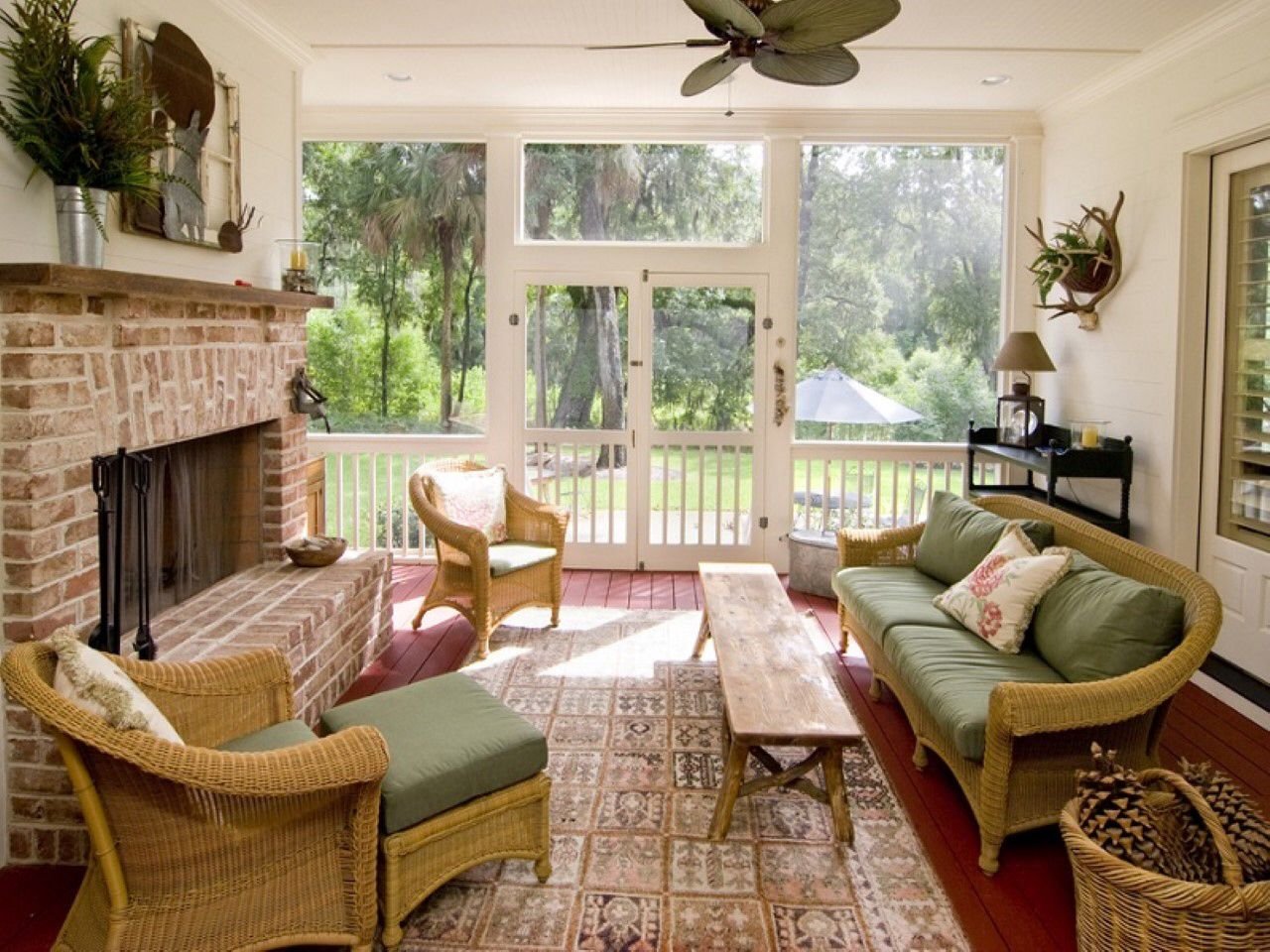 comfy brown wooden sunroom furniture paired. Comfy Brown Wooden Sunroom Furniture Paired. Image From Paired I Feidong.co Is A Great Content!!!