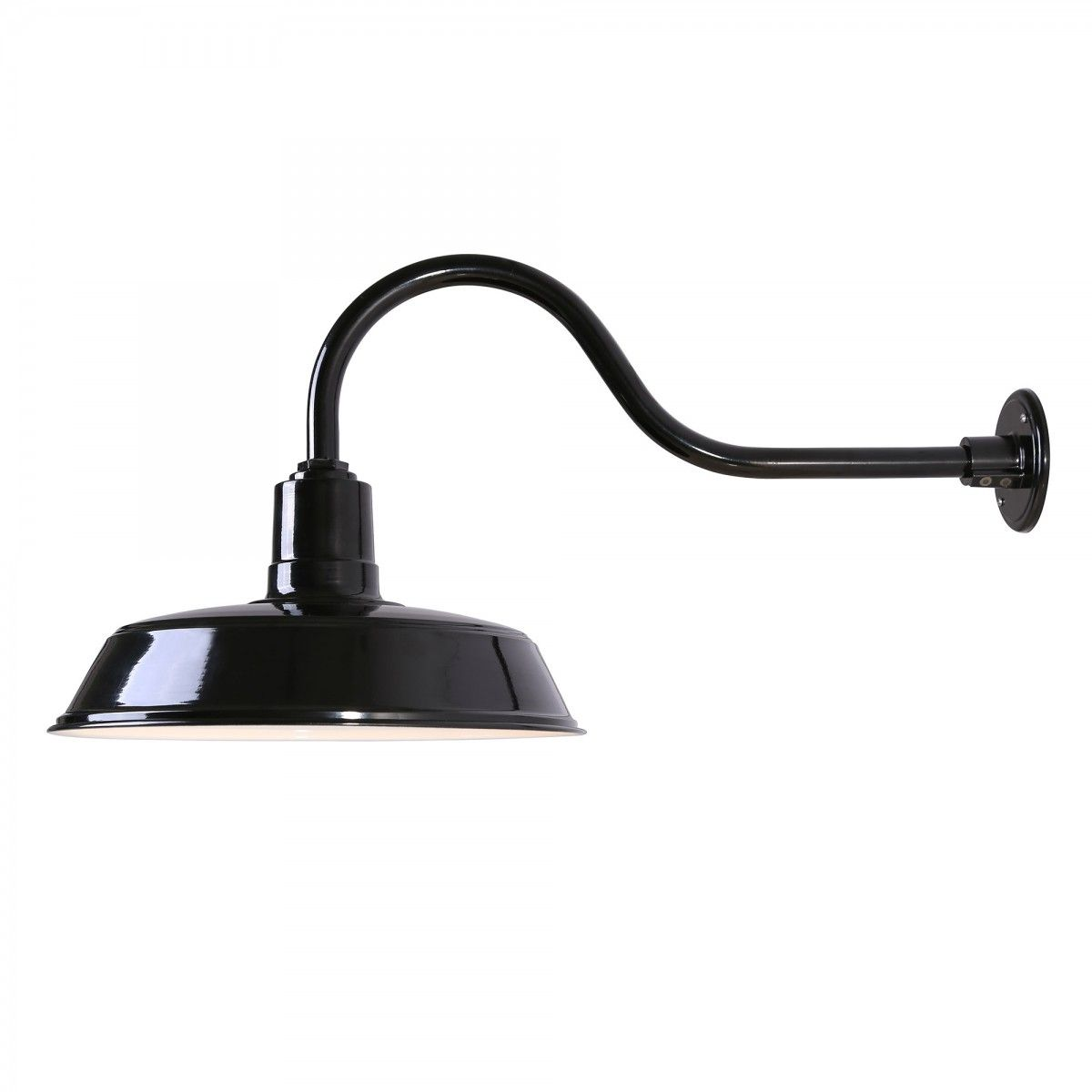 Outdoor Residential Lighting Fixtures Canarm bl16wacbk exterior outdoor barn light fixture farmhouse canarm bl16wacbk exterior outdoor barn light fixture farmhouse gooseneck 16 glossy black exterior workwithnaturefo