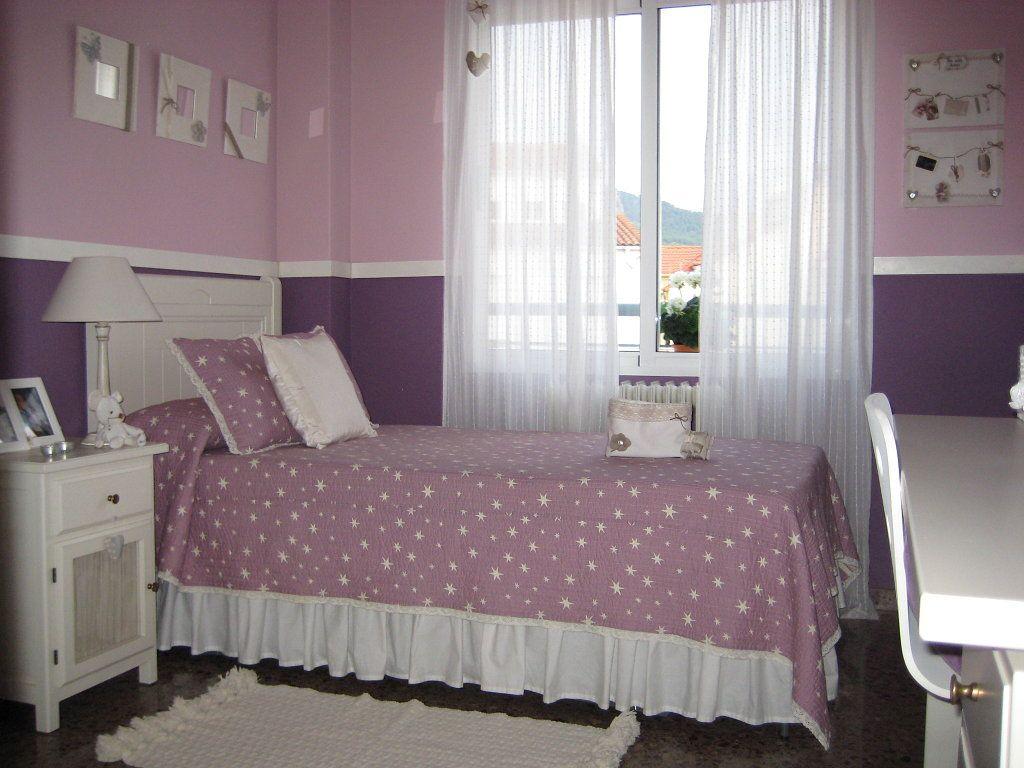 La habitaci n p rpura y malva de mi ni a cuarto de - Dormitorio malva ...