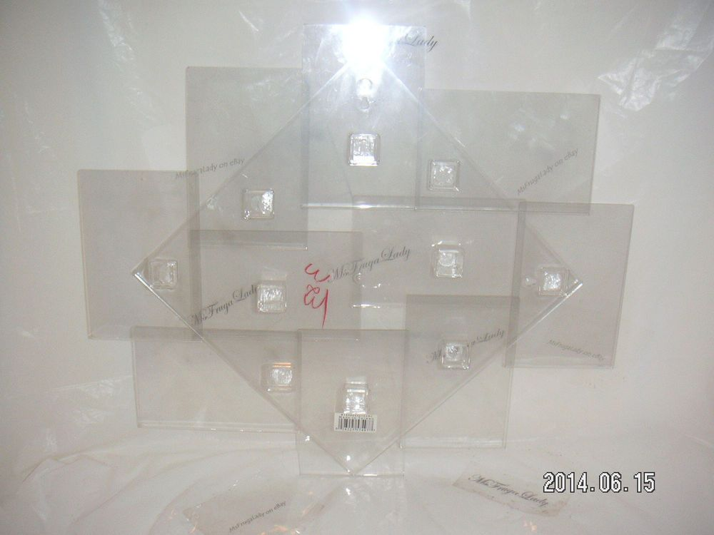 Collage Wall Decor Clear Plastic Frame Photo Card 4 X6 Holder 10