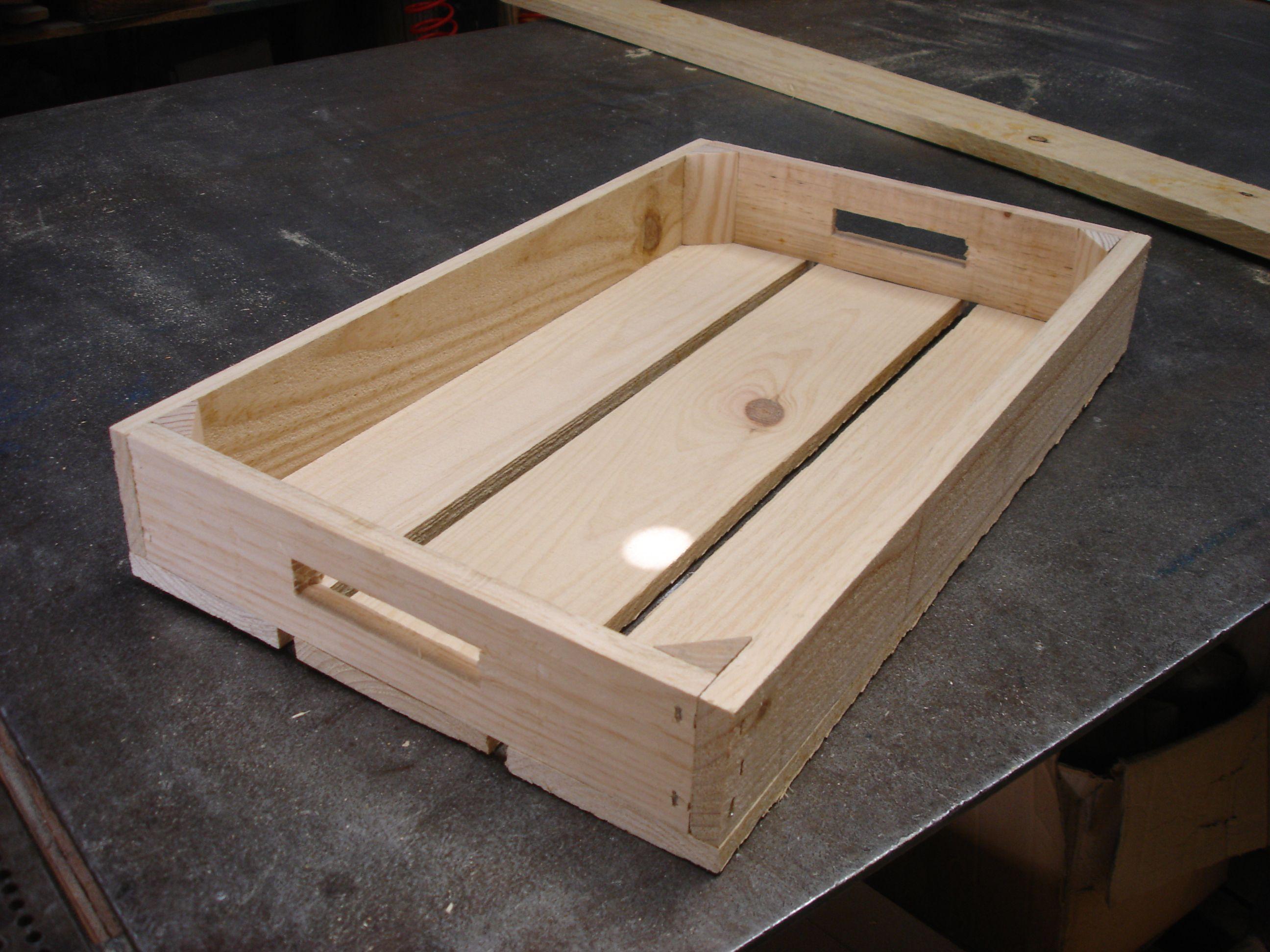 caja madera fruta modelo 2f