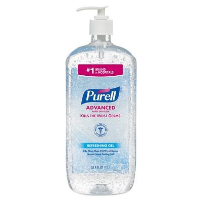 Purell Advanced Refreshing Gel Hand Sanitizer 33 8oz 2ct