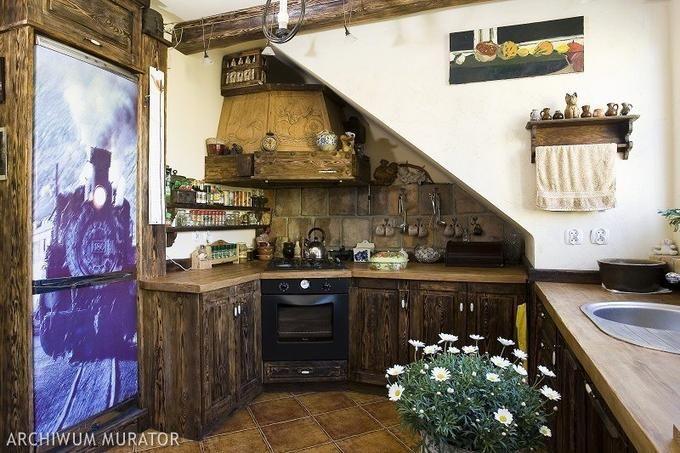 Kuchnia Z Duszą Home Garden W 2019 Kuchnia Rustykalny