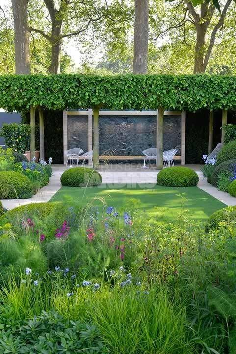 Jardin-Contemporain-Del-Buono-Gazerwitz | Garten idee | Pinterest ...
