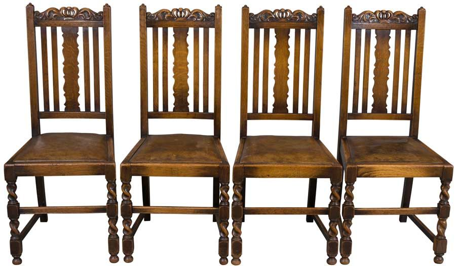 Antique Barley Twist Chairs