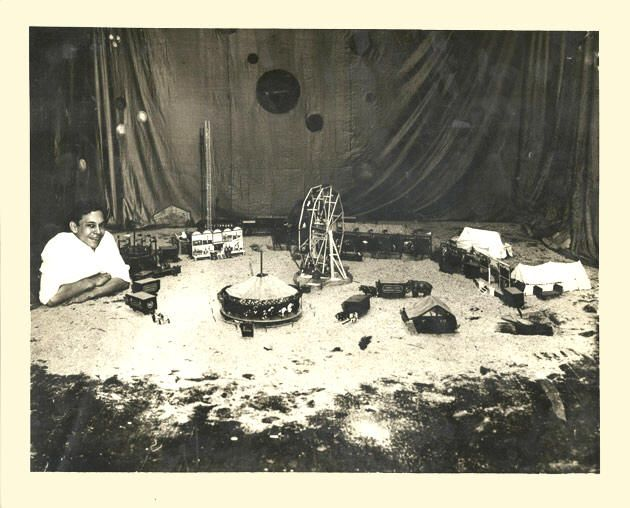 Johnny Eck Johnny Eck With His Hand Carved Miniature Circus 1926