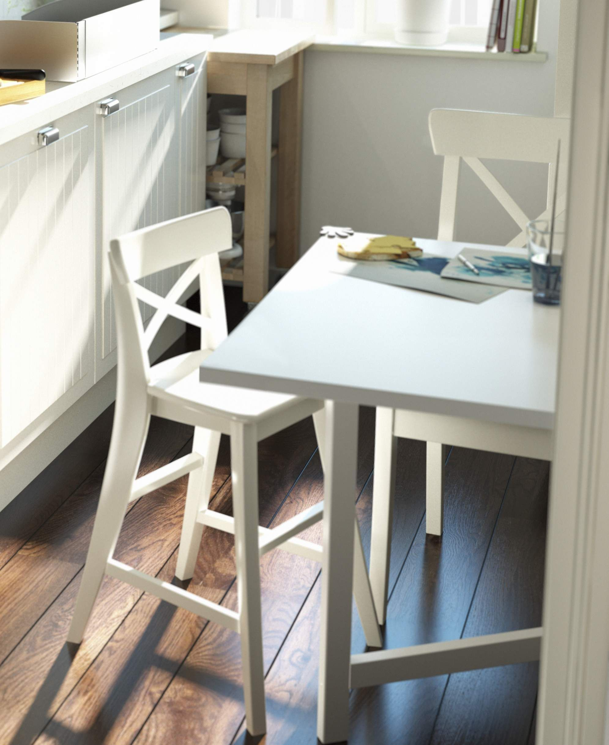 ikea ingolf chair design for terrace junior white dinner table chairs and