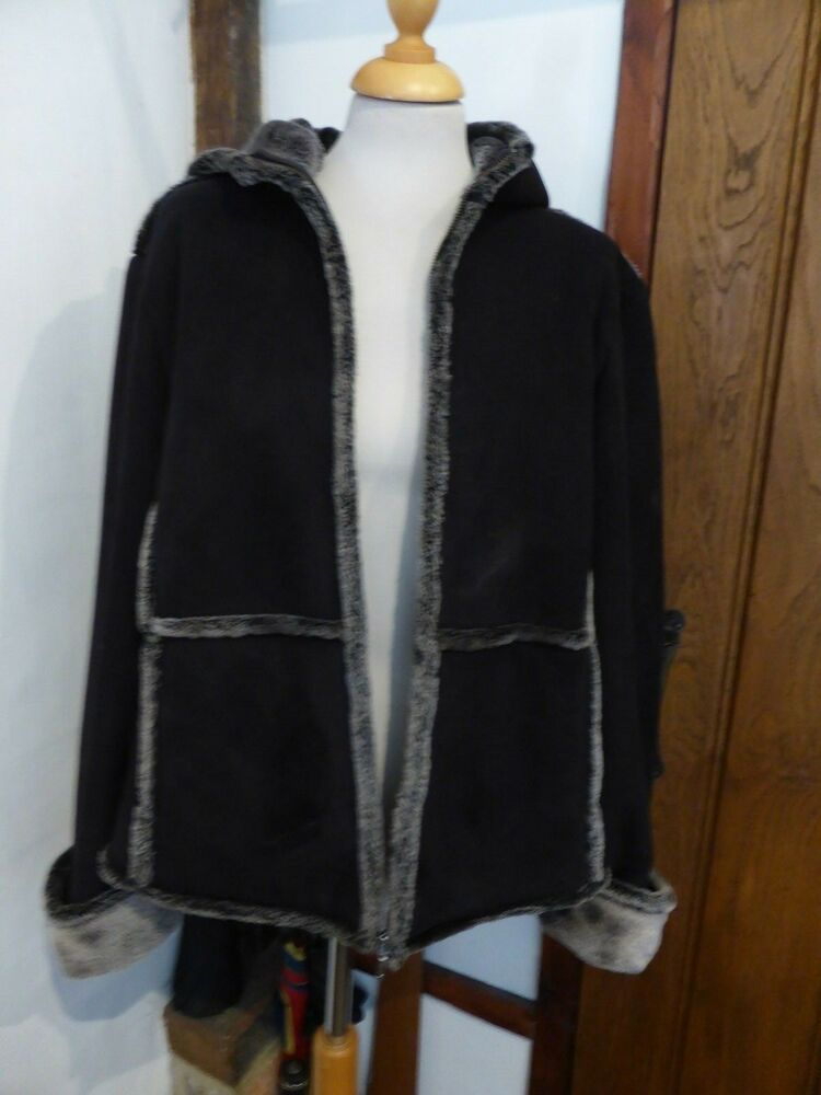 9e93385ebe7 Ladies Warm Snugly Jacket Next Size 18 Black with Grey Lining  fashion   clothing  shoes  accessories  womensclothing  coatsjacketsvests (ebay link)