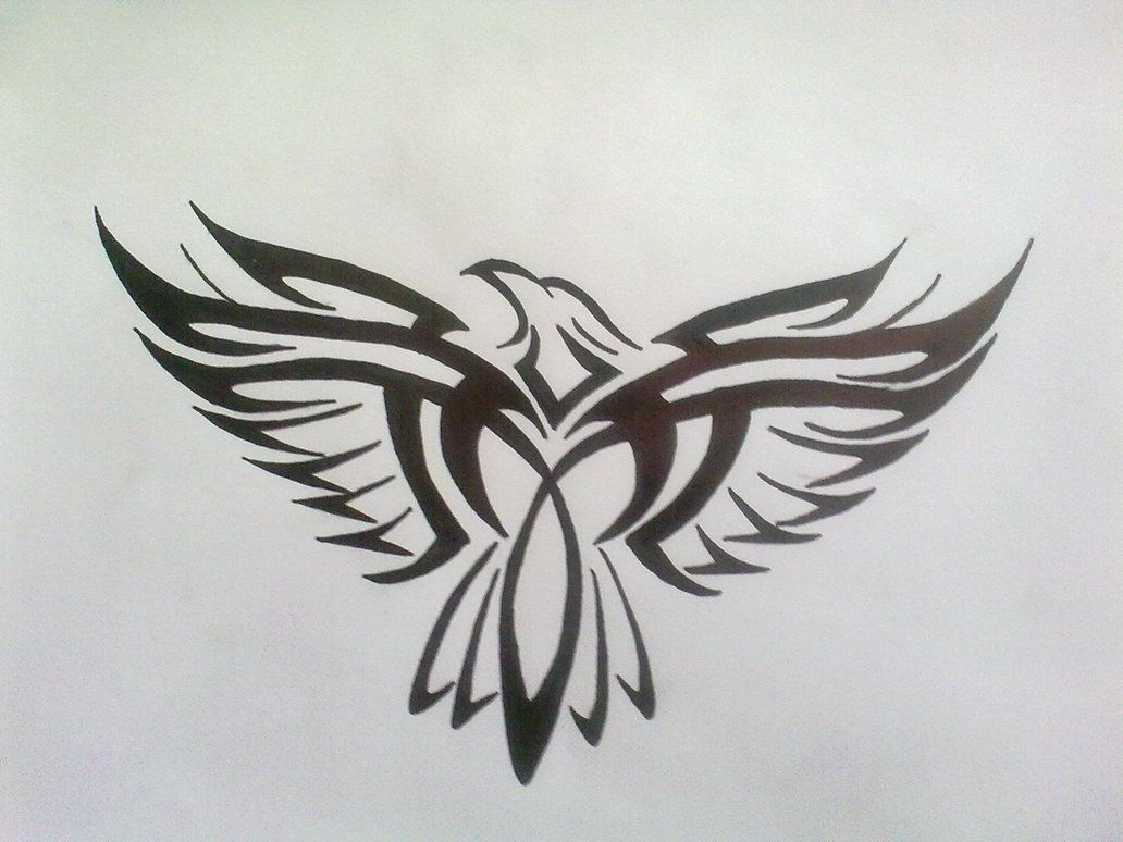 Tribal eagle tattoool i went to summer camp and this is my tribal eagle tattoool i went to summer camp and this is biocorpaavc Choice Image