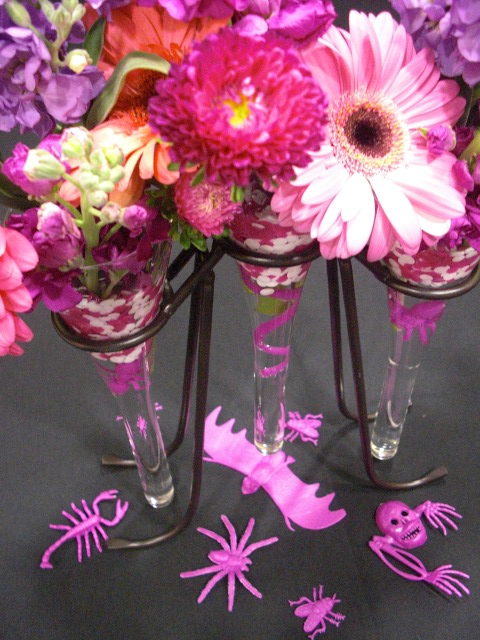 DIY Pretty Deco Dots ™ Floral Arrangement #diy #deco_dots #flowers #floral  #arrangement