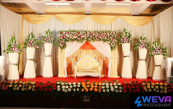 Wedding Stage Decoration Items In Bangalore : Indian wedding stage decoration get organised