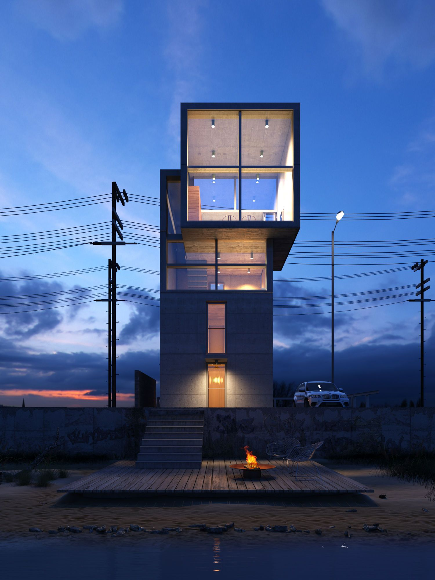 tadao ando 4x4 house a a n d o pinterest architektur