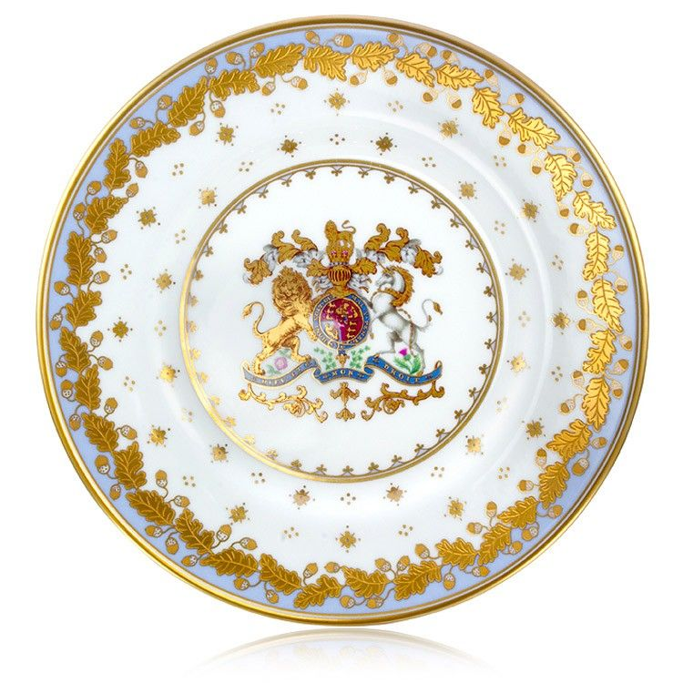 Buckingham Palace Georgian Side Plate Blue