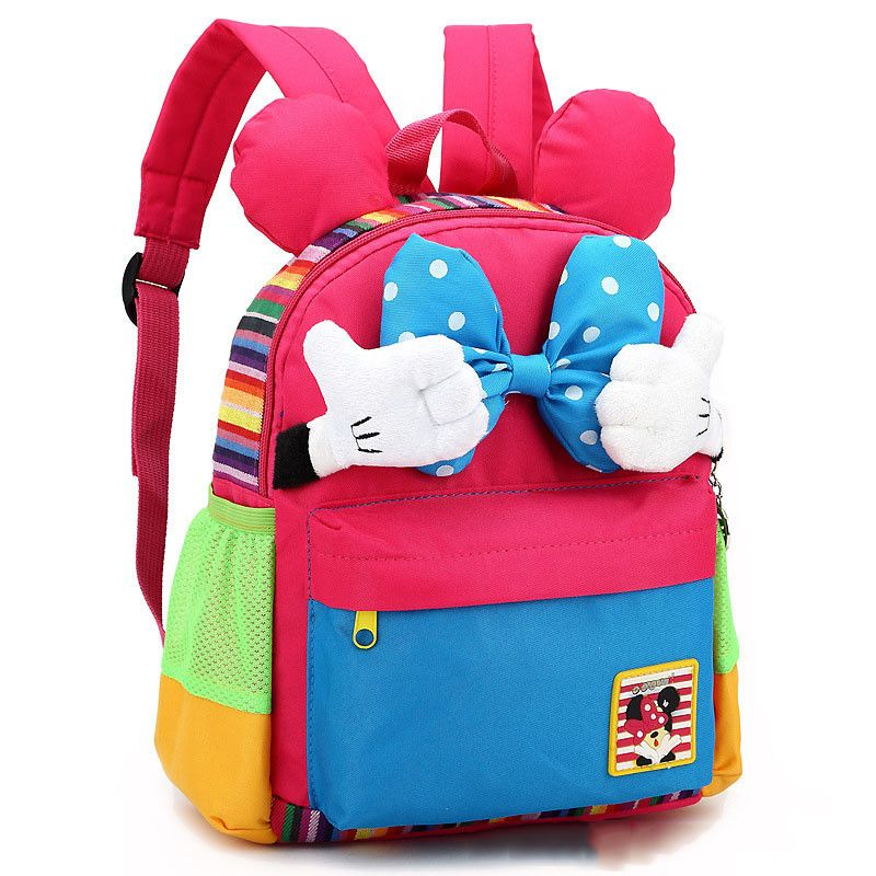 Cartoon Kids School Backpack Children School Bags For Kindergarten Girls  Boys Nursery Baby Student book bag mochila infantil 63e96523f5da7