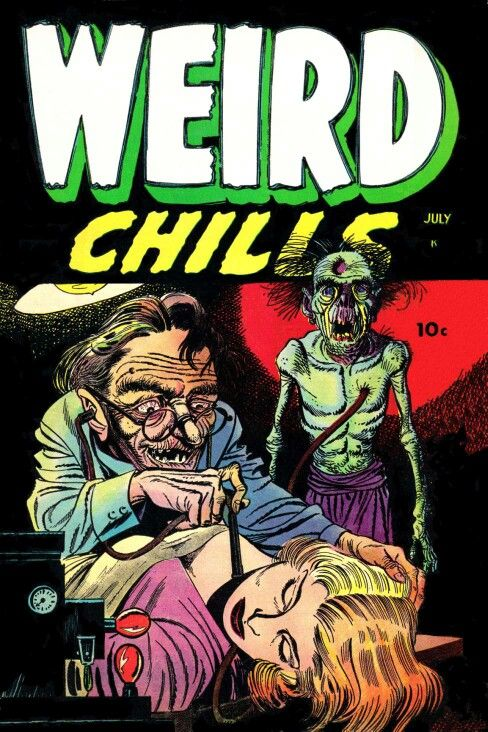 Weird Chills, Pre-code horror comics