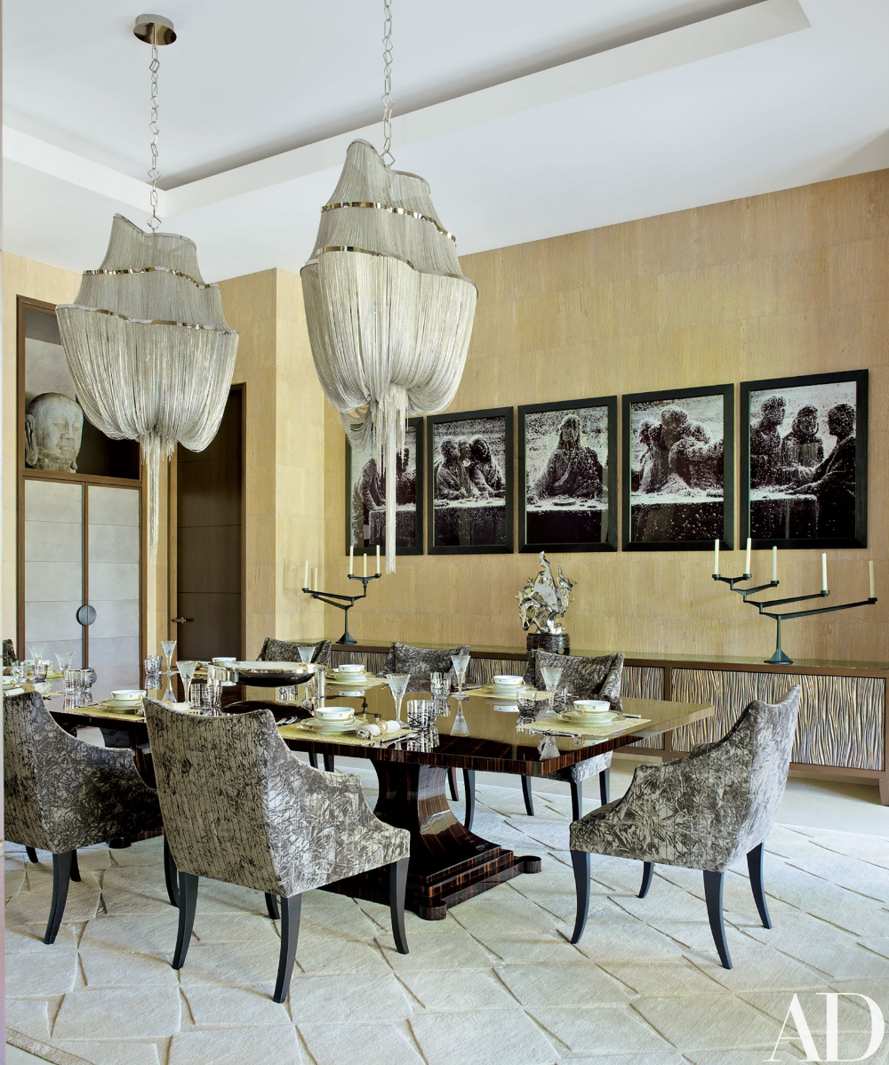 Two Prominent Art Collectors Build a Luxe Palladian-Style Home in Florida