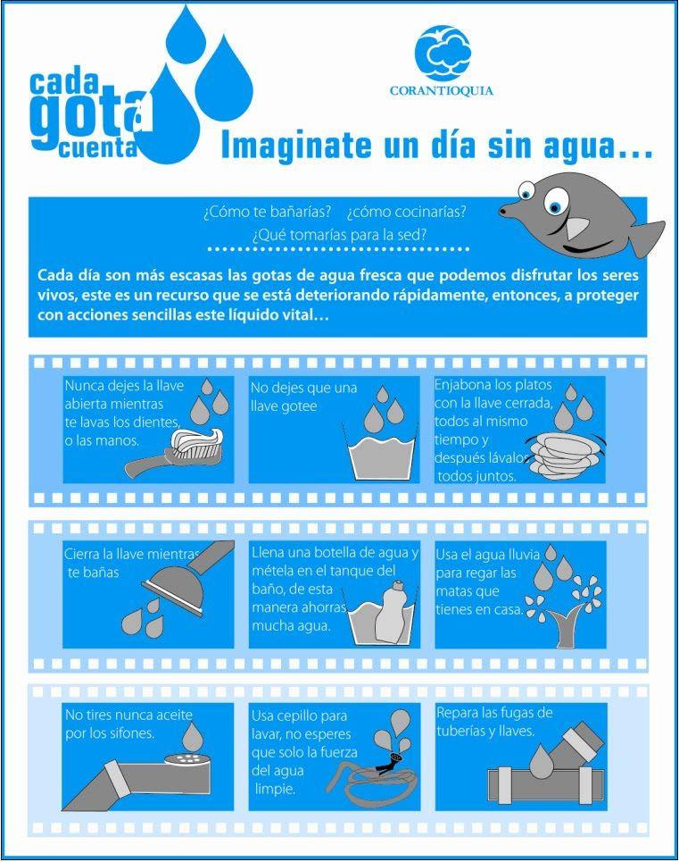 Ideas Para Cuidar El Agua Cuidado Del Agua