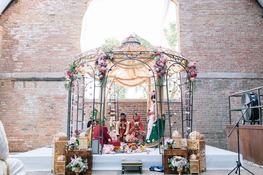 Pavan Shilpy Wedding At Bridgeport Art Center Chicago Il