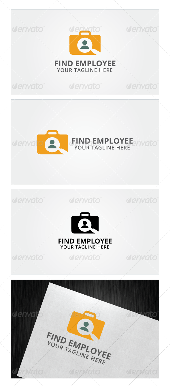 Find Employee Logo Template
