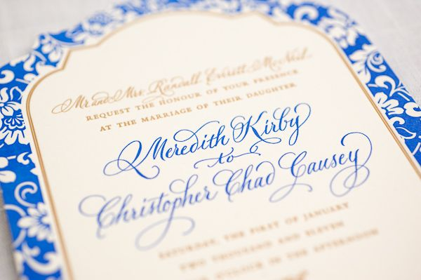 Beautiful Wedding Papers by The Lettered Olive - The Bride's Cafe