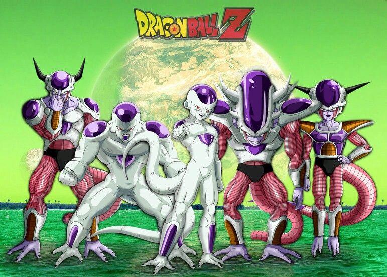 All Frieza Forms Dragon Ball Dragon Ball Z Dragon
