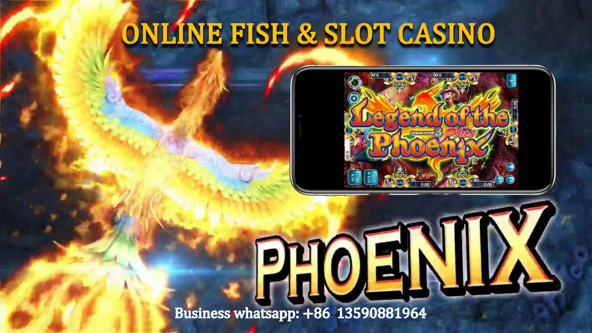 2020 Newest Phoenix Legend Online Fish System Online Whole Fish Gambling System Mobile Phone Fish Online Gambling Fishing Game Gambling