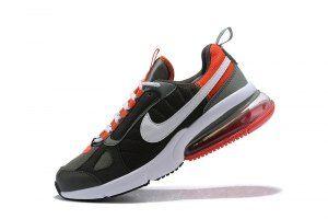 premium selection 1aa8d 1cc15 Mens Nike Air Max 270 Casual Sneakers Futura Dark Stucco White Newsprint Team  Orange AO1569 002