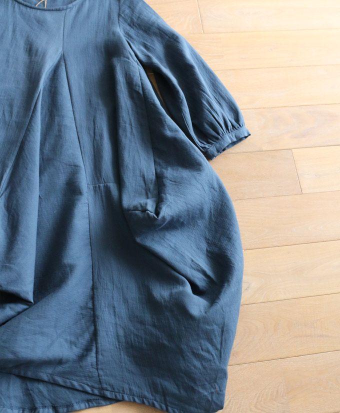 【楽天市場】【再入荷♪5月3日12時&22時より】☆☆「french」裾ボリュームの変形ワンピース:cawaii