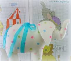 Αποτέλεσμα εικόνας για πατρόν για ελεφαντάκια