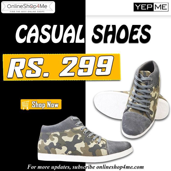 Yepme Casual #Shoes – Grey Buy Now
