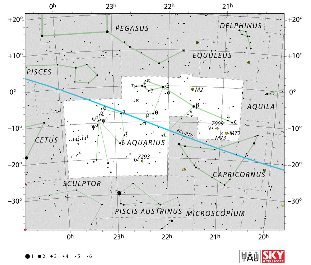 Aquarius constellation,star map,star chart | Tattoos