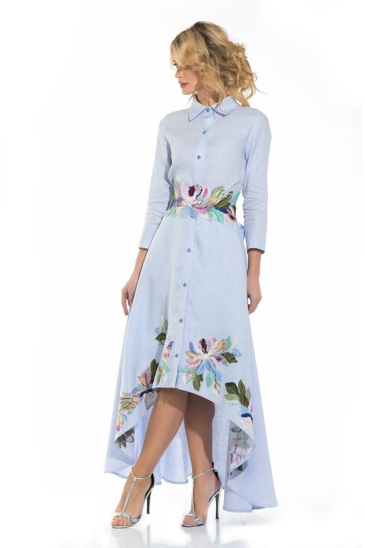 """Платье """"Лаванда"""" - Юкостайл. Магазин дизайнерской одежды оптом и в розницу."""