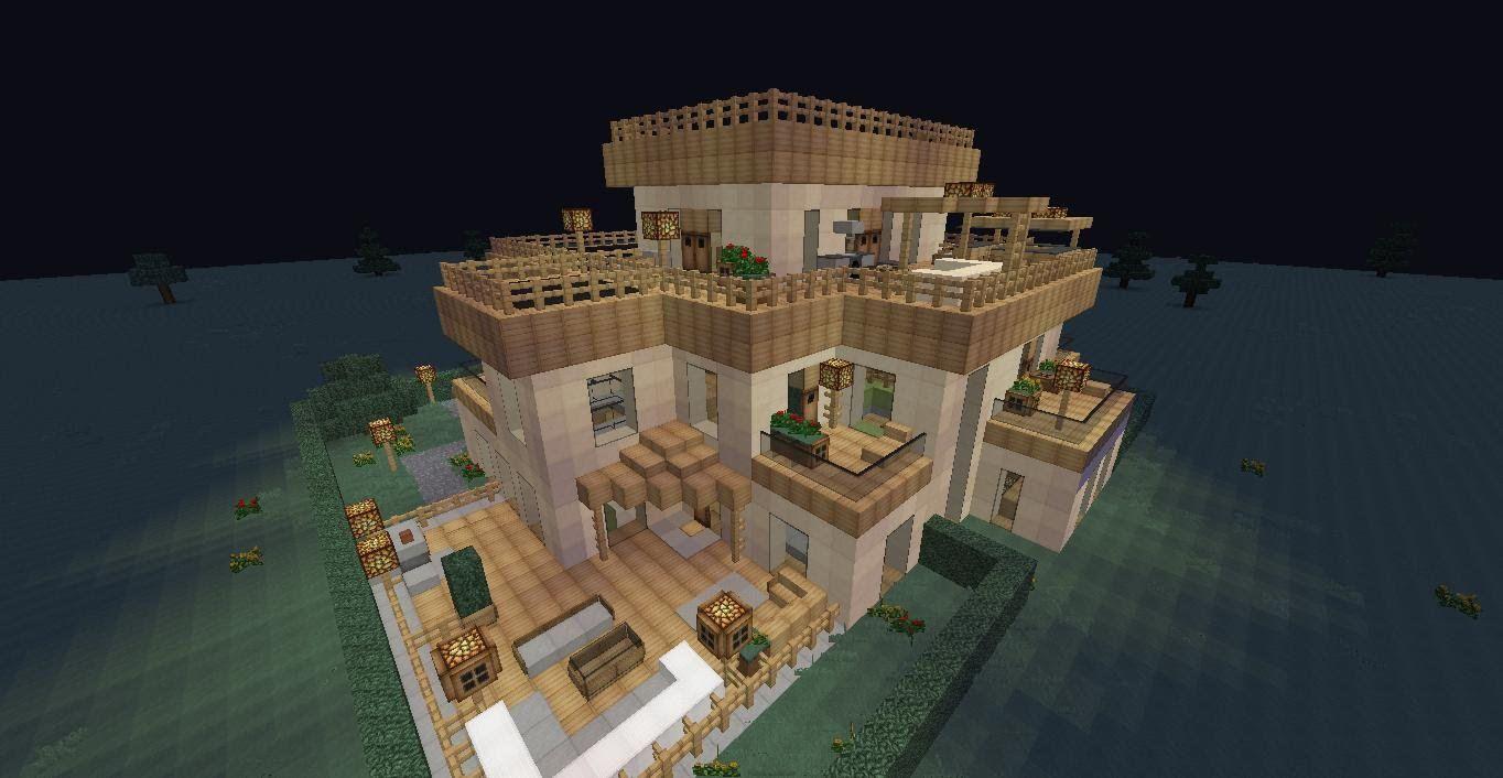 """^ Über 1.000 Ideen zu """"Villa Minecraft auf Pinterest"""" Minecraft ..."""