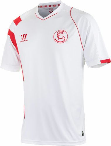 FlagWigs  Sevilla 2014-2015 Home Jersey Shirt Kit   Have a F ... b67d6d2f1