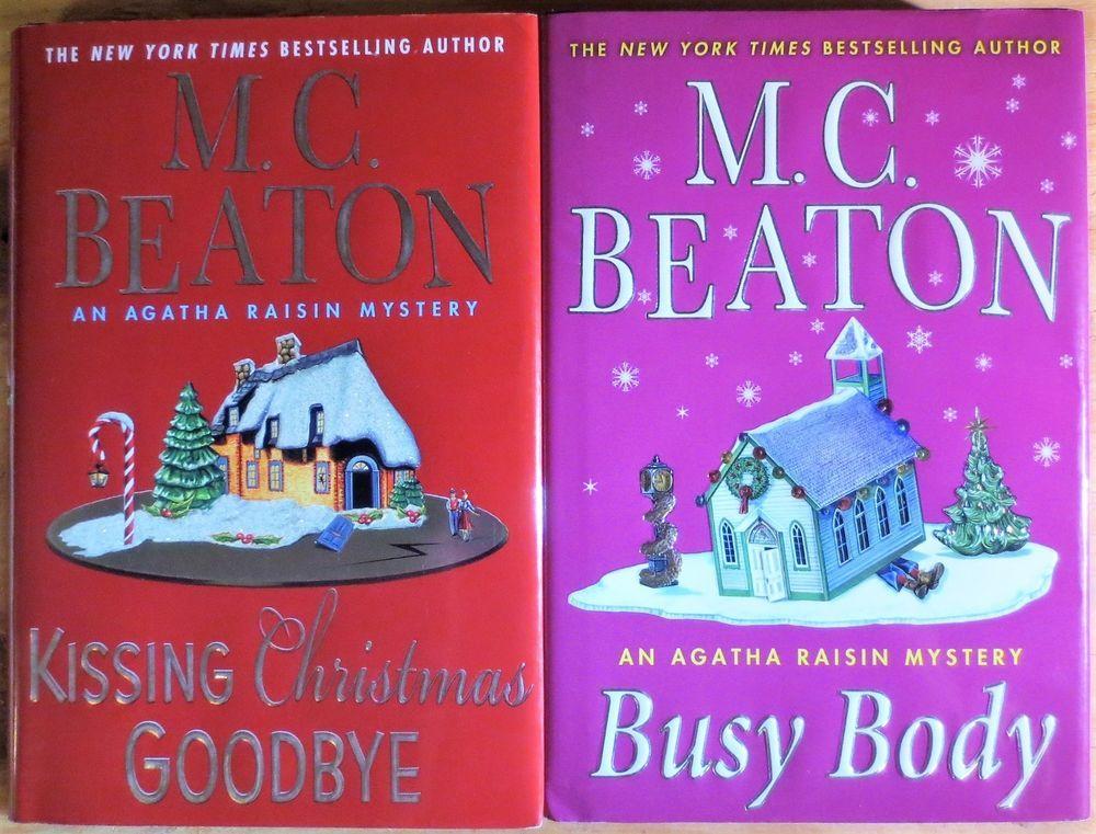 Agatha raisin mysteries busy body m c beaton kissing
