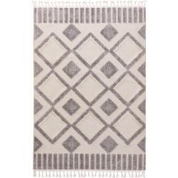 Photo of benuta Kurzflor Teppich Oyo Cream/Grau 200×290 cm – Moderner Teppich für Wohnzimmer benuta