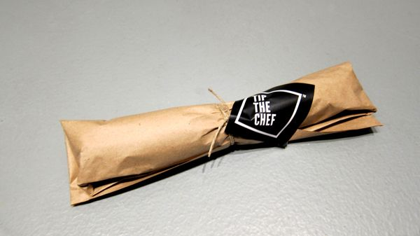 Tip the Chef / Xmas Gift by Big Horror Athens , via Behance