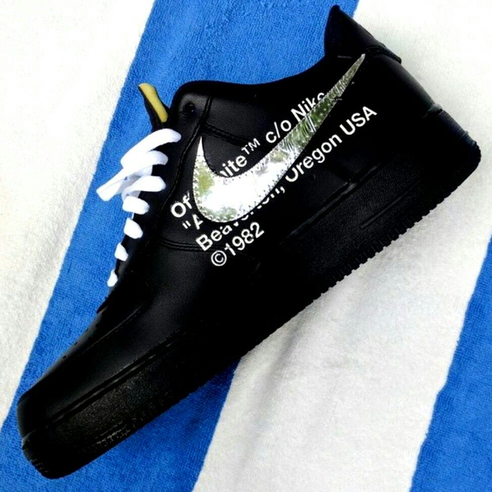 OFF WHITE × NIKE COLLABORATION VIRGIL ABLOH AIR FORCE 1