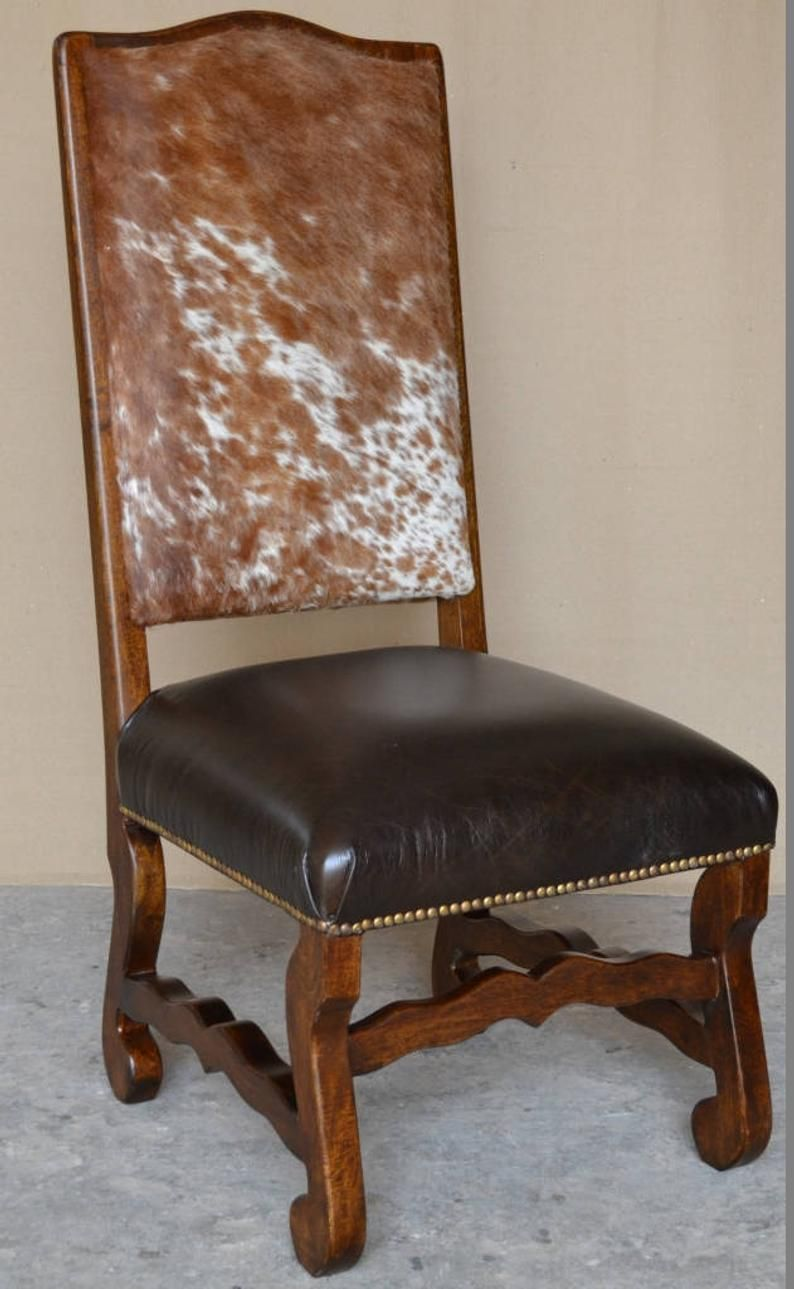 Classic cowhide chair with images cowhide chair