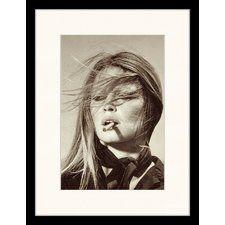 Bridget Bardot Smoking Framed Photographic Print