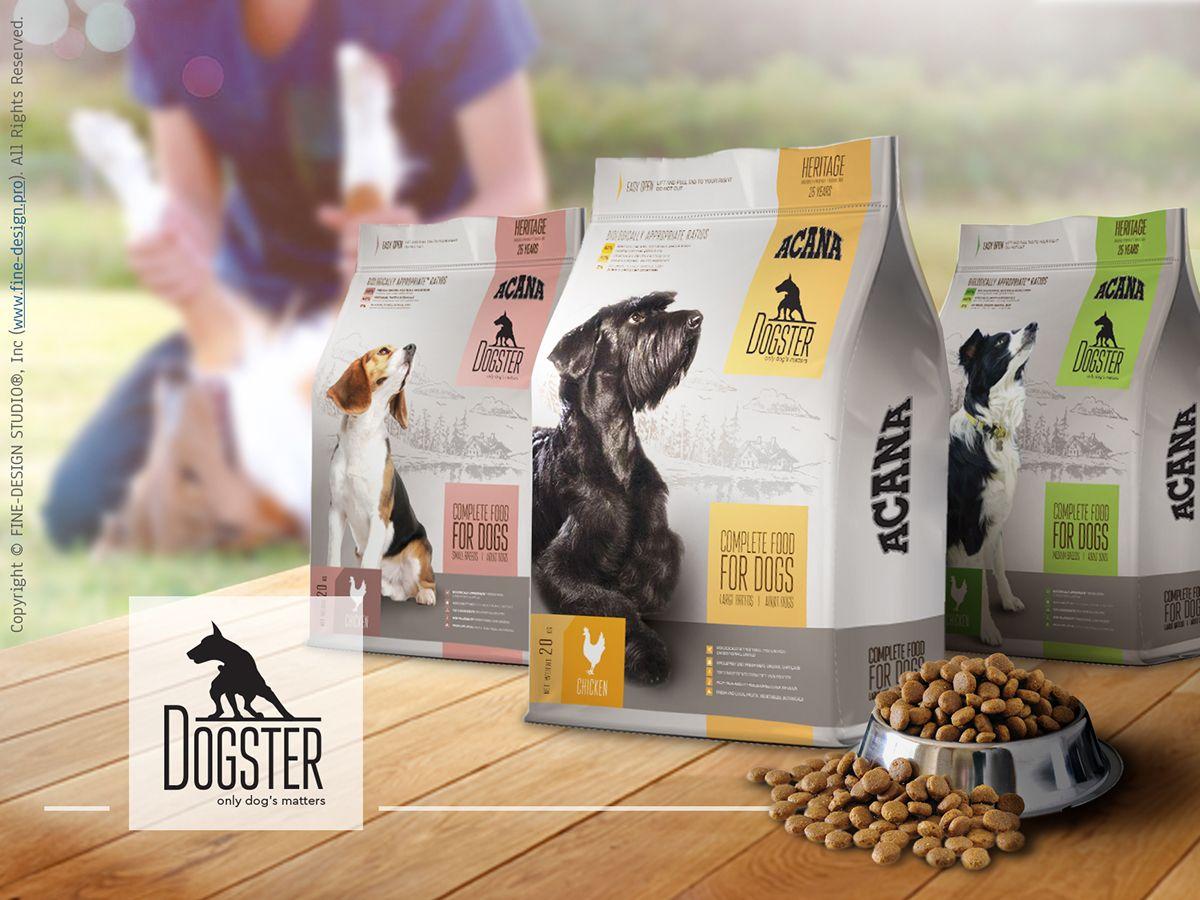 Acana Pet Food Label Packaging Concept On Behance Pet Food