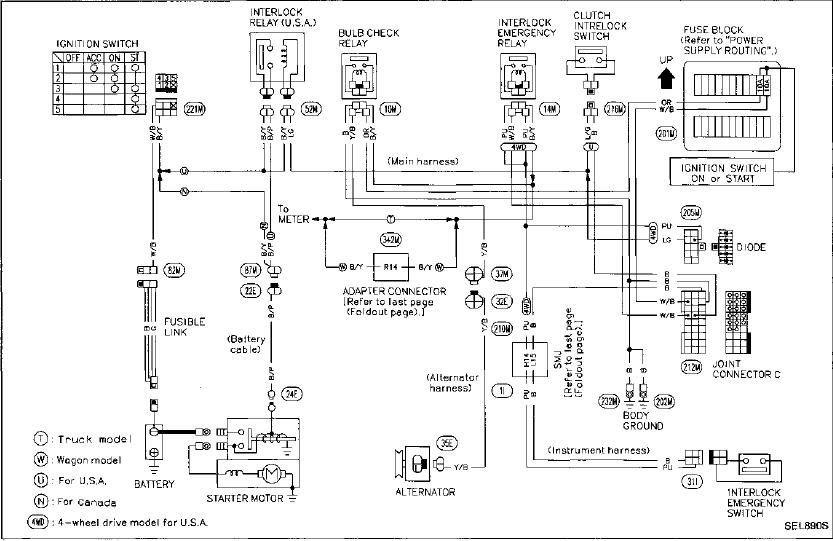 Nissan pathfinder electrical wiring schematics #5 | Nissan pathfinder,  Nissan, PathfinderPinterest