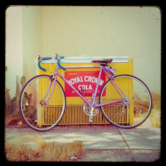 Bike Art Bicycle Photography Retro Marfa Texas Photo by