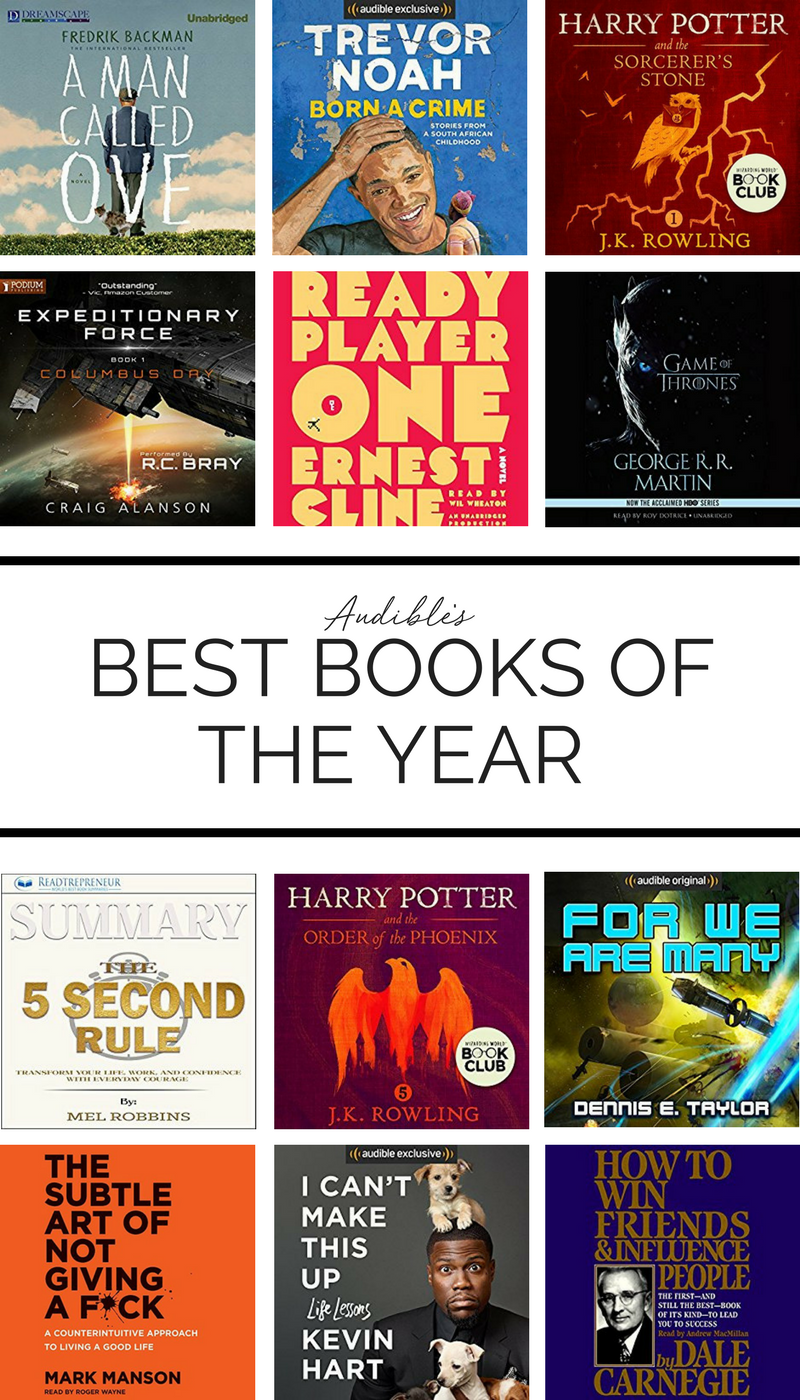 Like Audiobooks If So You Definitely Need To Check Out Audible S 20 Top Audio Books From 2017 List Via Honey A Audible Books Inspirational Books Audio Books