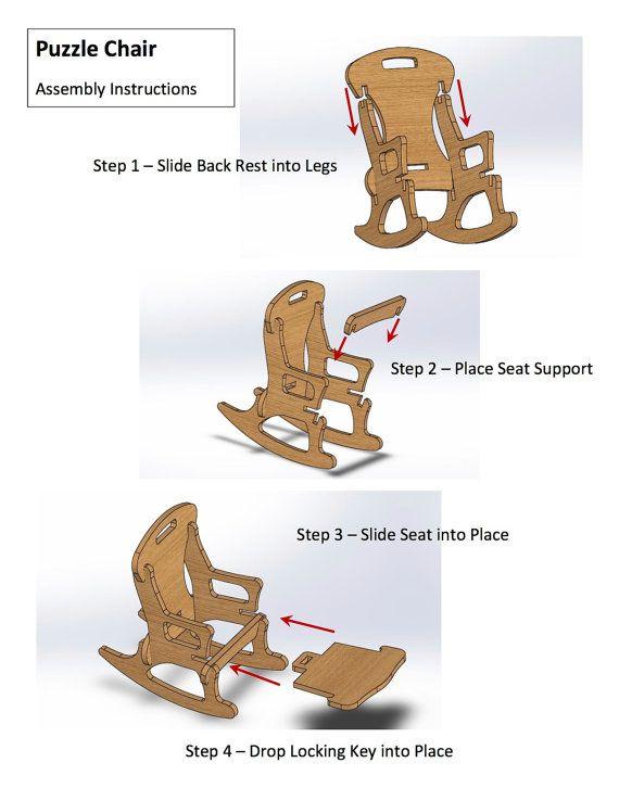 Cool Child Sized Contemporary Handmade Rocking Chair By Uwap Interior Chair Design Uwaporg