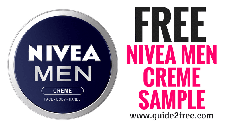 Free Nivea Men Creme Sample  Top Blogs