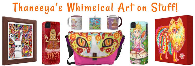 Whimsical Art Products by Thaneeya