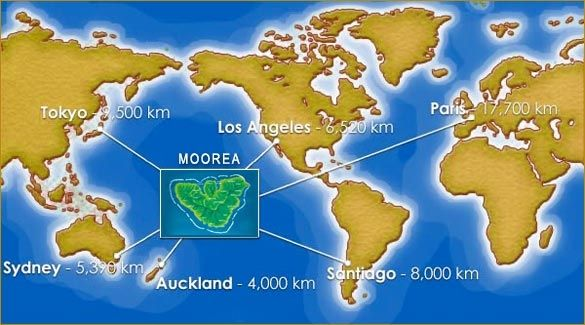 Map Of Moorea Yahoo Image Search Results Tahiti