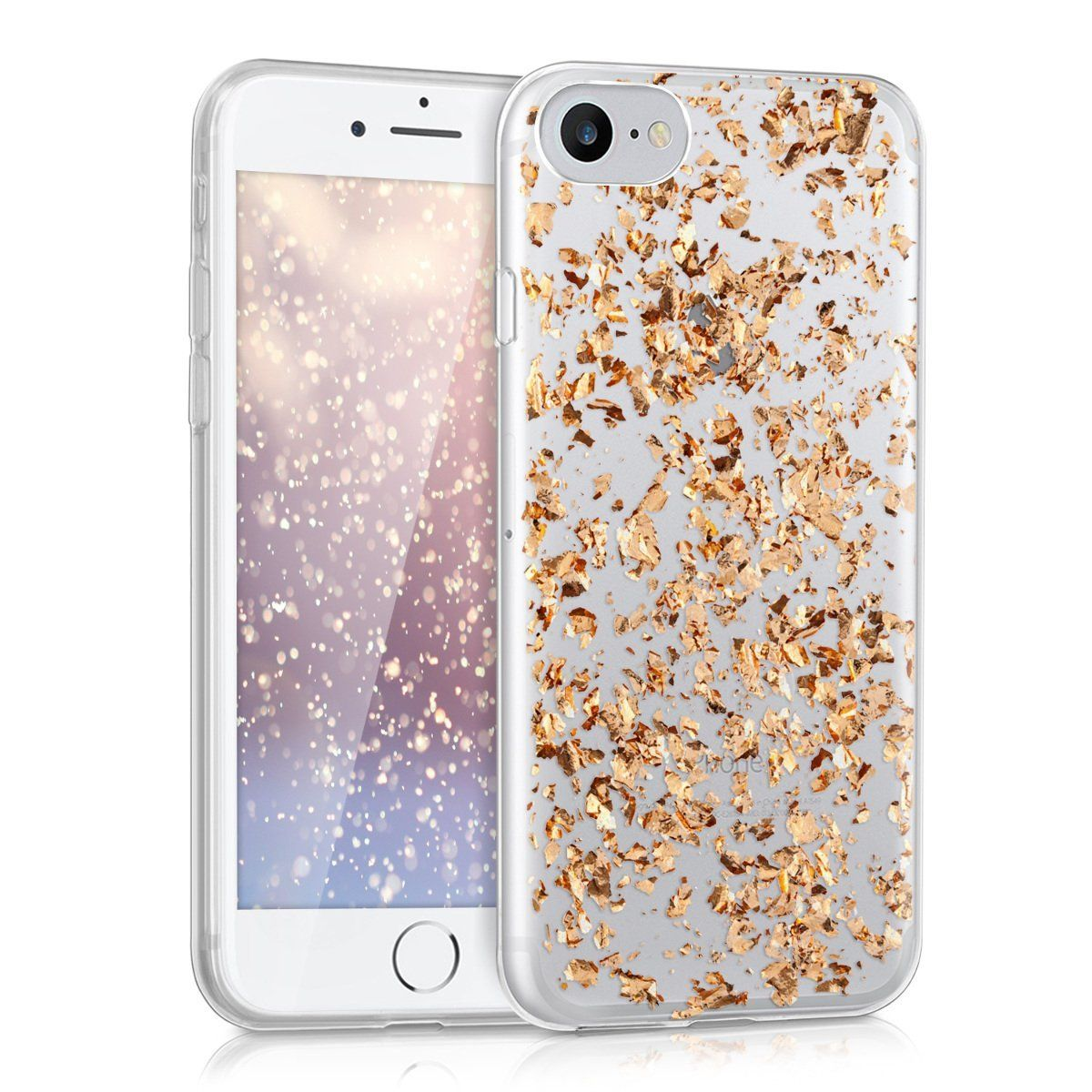 Kwmobile Crystal Case Kwmobile Crystal Tpu Silicone Case For Apple Iphone 7 8 In