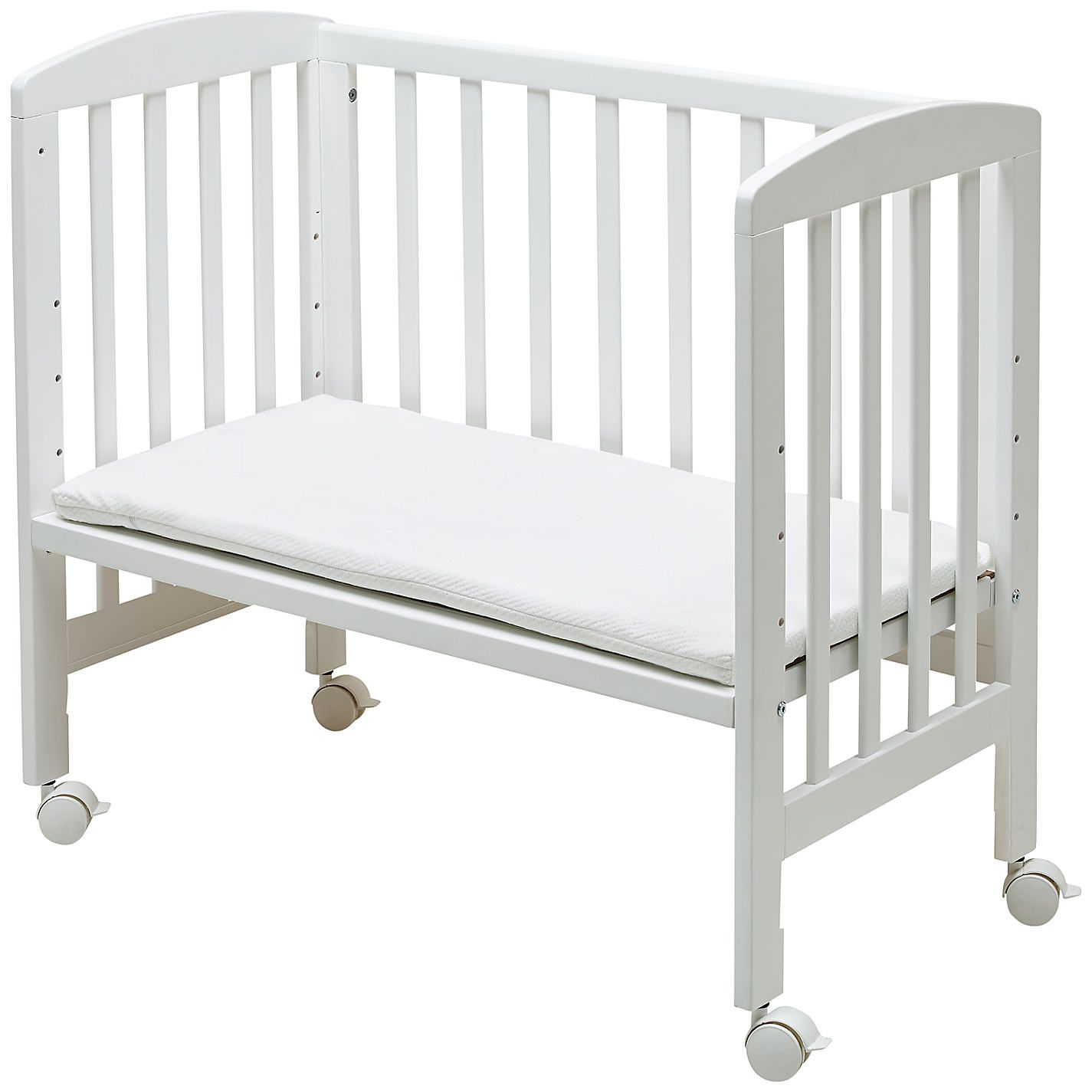 Baby cribs john lewis - Baby Bed John Lewis Buy Babydan 3 In 1 Side By Side Crib White From